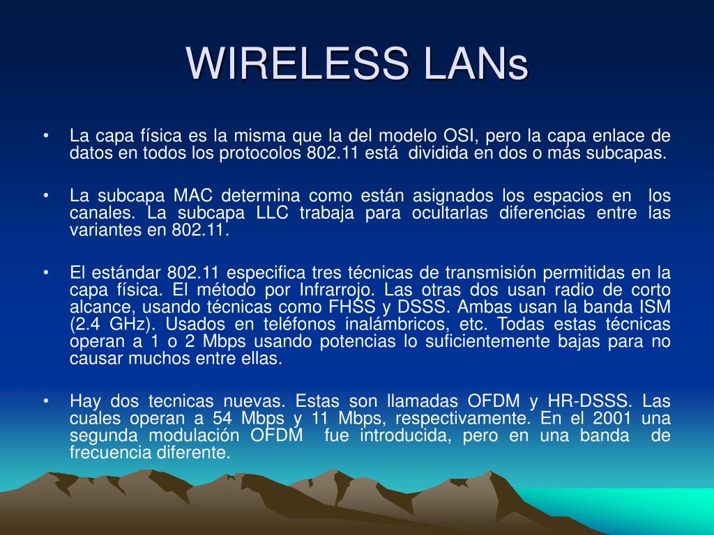 wireless lans l.
