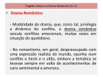 trag dia cl ssica vs drama rom ntico f l s15