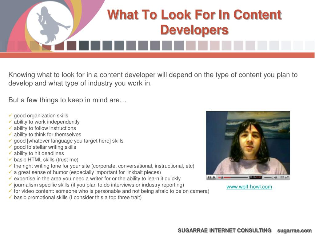 What To Look For In Content Developers