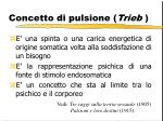 concetto di pulsione trieb