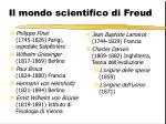 il mondo scientifico di freud