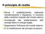 il principio di realt