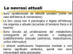 le nevrosi attuali