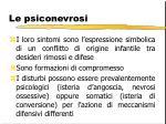 le psiconevrosi