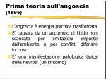 prima teoria sull angoscia 1895