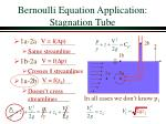 bernoulli equation application stagnation tube11