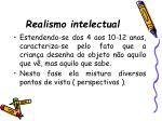 realismo intelectual