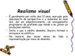 realismo visual