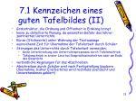 7 1 kennzeichen eines guten tafelbildes ii