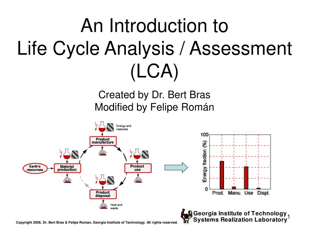 an introduction to life cycle analysis assessment lca l.