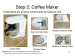 step 2 coffee maker