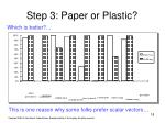 step 3 paper or plastic