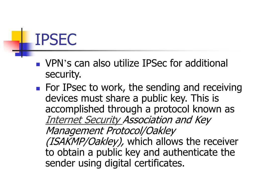 IPSEC