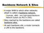 backbone network sites