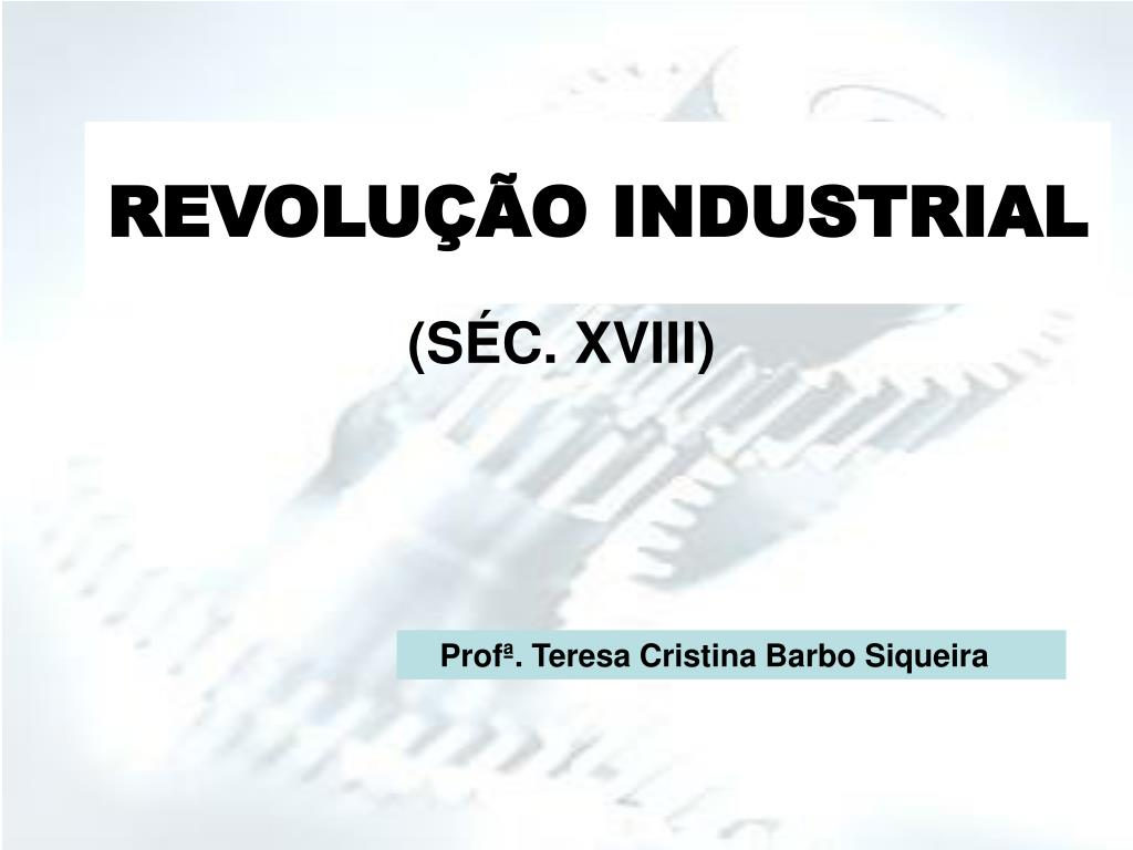 revolu o industrial l.
