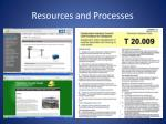resources and processes8