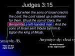 judges 3 15