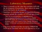 laboratory measures