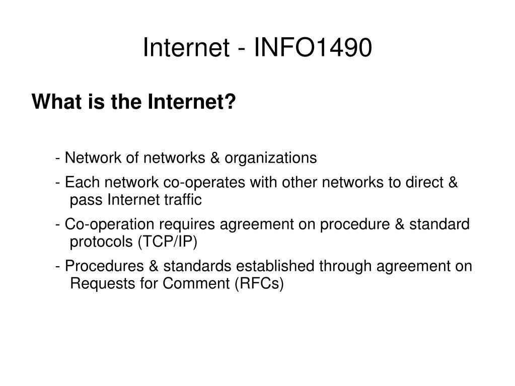 internet info1490 l.