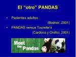 el otro pandas
