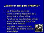existe un test para pandas