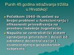 punih 45 godina istra ivanja tr i ta u hrvatskoj