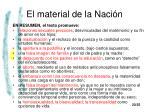 el material de la naci n21