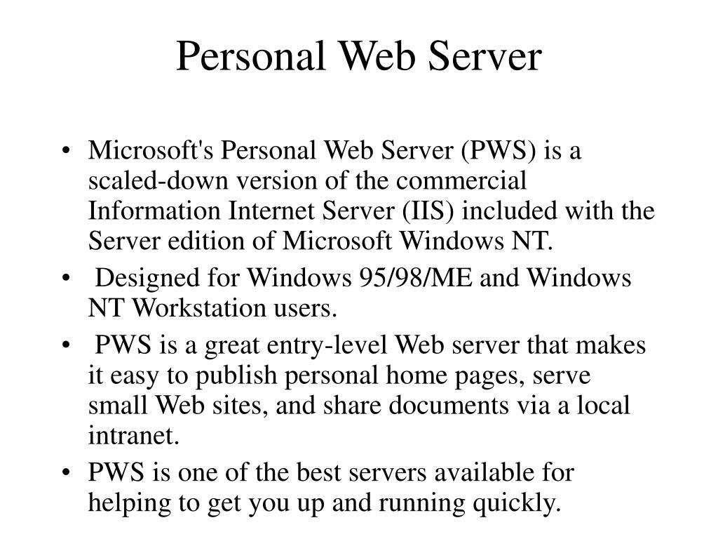 Personal Web Server