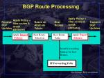 bgp route processing