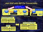join egp with igp for connectivity