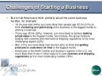 challenges of starting a business10