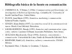 bibliograf a b sica de la fuente en comunicaci n