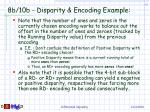 8b 10b disparity encoding example63