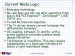 current mode logic