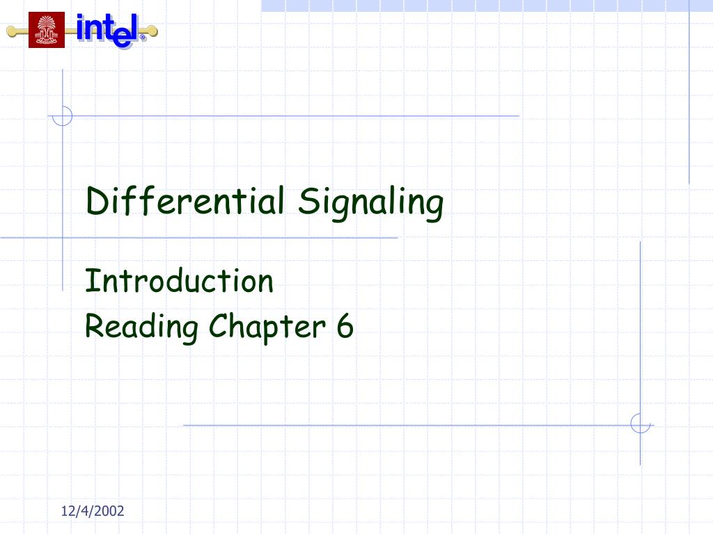 differential signaling l.
