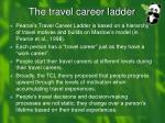the travel career ladder