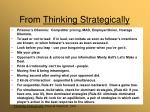 from thinking strategically