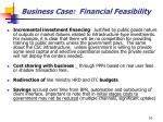 business case financial feasibility