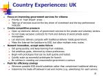 country experiences uk