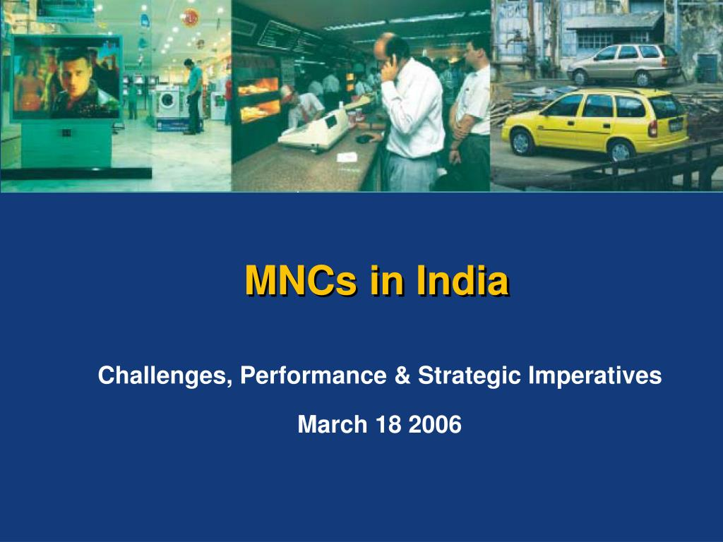 challenges performance strategic imperatives march 18 2006 l.