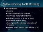 video modeling tooth brushing74