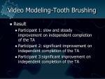 video modeling tooth brushing78