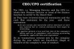 ceo cfo certification