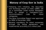 history of corp gov in india5