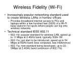 wireless fidelity wi fi