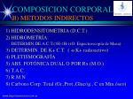 composicion corporal b metodos indirectos