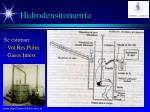 hidrodensitometr a
