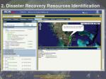 2 disaster recovery resources identification15