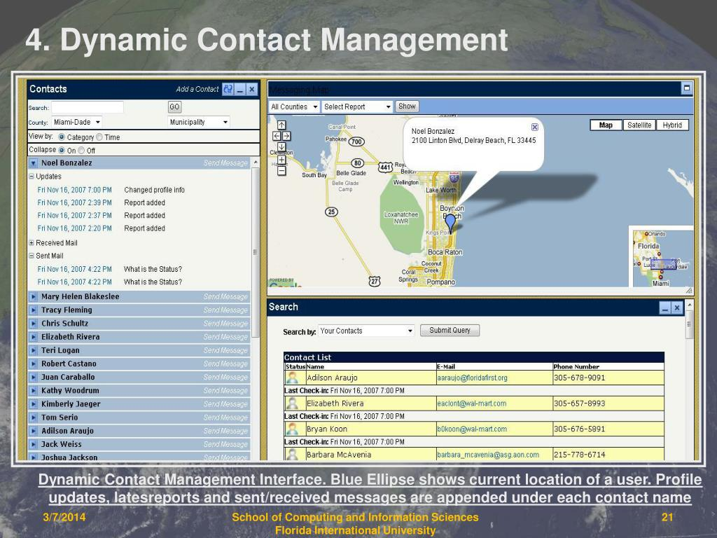 4. Dynamic Contact Management
