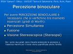 percezione binoculare